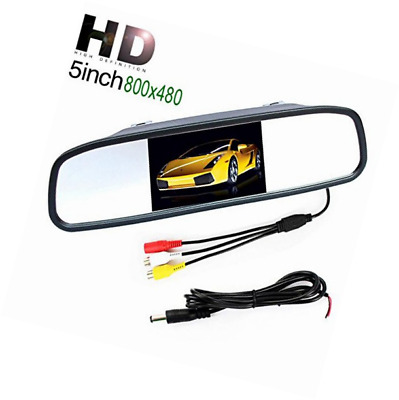 "Car Mirror Monitor - 5"" inch HD 800 * 480 Resolution Digital TFT LCD Parking Rea"
