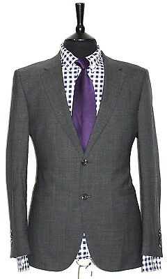 Luxury Mens Chester Barrie Savile Row Navy Suit 38S W34 X L28.5