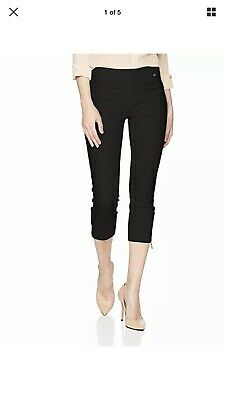 IVANKA TRUMP Women's Straight Cropped Length Pants NWT Size: 4 New with tags