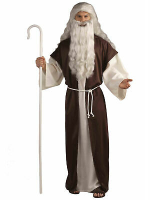 EXTENDABLE CROZIER STAFF Bishops Staff Nativity King SANTA Fancy Dress Accessory