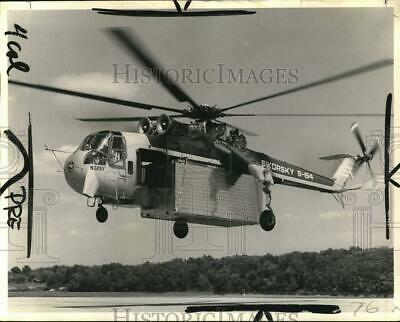 HELICOPTER 8X12 PHOTOGRAPH NASA A Langley Vertol VZ-2 Model 76