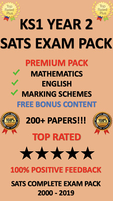SATS Year 2 KS1 2000-2019 EXAM TEST PAPERS MATHS ENGLISH WITH ANSWERS DOWNLOAD