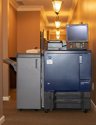 Konica Accurio Print C3070L Color Digital Production Press/Copier/Scanner