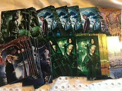 COMPLETE SET OF Harry Potter CARDS PANINI From Sticker Collection C1-C50