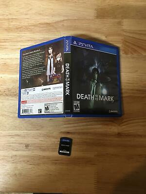 Death Mark Sony PS Vita Tested & Working Great in Box
