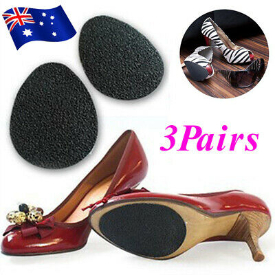 3 Pairs Self Adhesive Non Slip Shoe Sole Grip Pad High Heels Slippery Soles Care