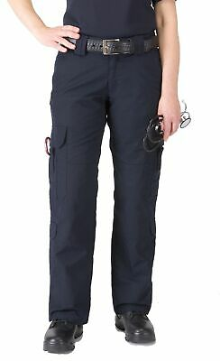 5.11 Tactical Navy Blue Women's Size 4 Cargo Solid Work EMS Pants $60 #092
