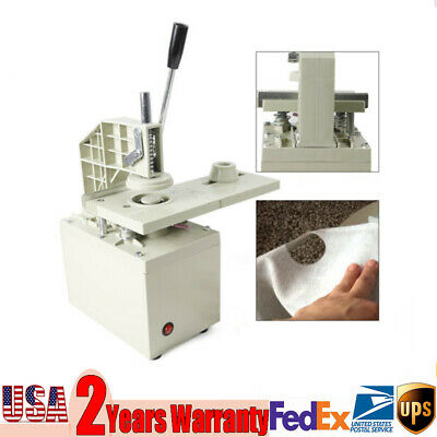 Electric Curtain Eyelet Hole Punch Machine Workshop Aluminum Bracket 40mm 110V