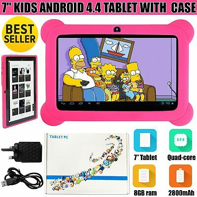 7? INCH 8GB KIDS ANDROID TABLET PC PAD QUAD CORE WIFI Camera CHILD CHILDREN GIFT