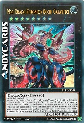 NEO DRAGO FOTONICO OCCHI GALATTICI • Ultra R • BLLR IT064 • Yugioh! • ANDYCARDS