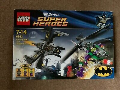 LEGO 6863 DC Super Heroes Batwing Battle Retired & Rare Brand New in sealed Box