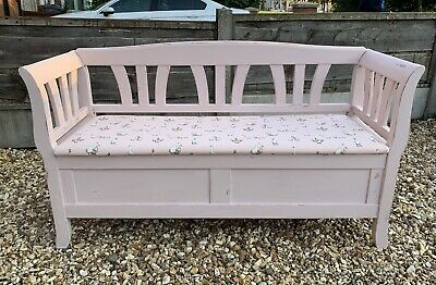 Shabby Chic Country Style Indoor Bench Pew REDUCED