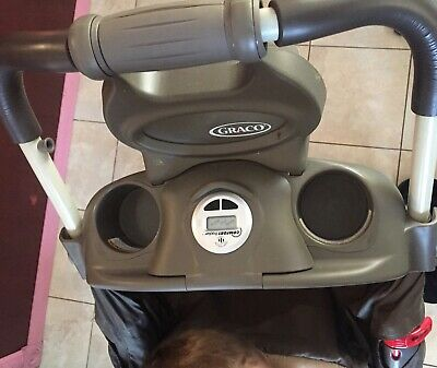Parents Tray for Graco Quattro Tour Stroller REPLACEMENT PART Cup holder clock