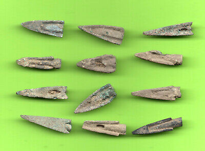 LOT of 12 Sarmatia OLBIA Cast Proto Money ARROW 5th BC Ukraine Russland 43