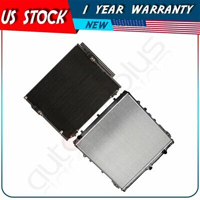 For Toyota Sequoia 08-14 5.7L V8 New Radiator+AC Condenser Assembly 2994 3598