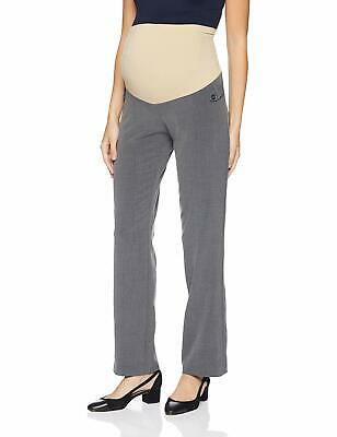 Motherhood Maternity Womens Pants Gray Size PXL Petite Straight Stretch $39- 355
