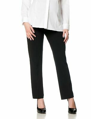 Motherhood Maternity Womens Black Size Pants Large PL Petite Stretch $39- 372