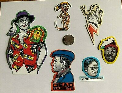 Tyler Stout Stickers The Joker & More Set Of 6 Misc Stickers Rare Excl Set H