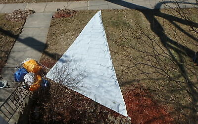 "Genoa Jib 24' 11"" Luff sailboat Hank-on Doyle Sailmaker with sheets Excellent"