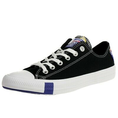 Converse Unisexe Chuck Taylor All Star Logo Stacked Ox Low Top Baskets 166738C