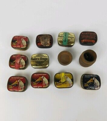 Loud And Soft Gramophone Needles And Tin (Some Sealed)