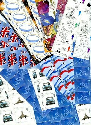 GREAT BRITAIN 1st CLASS STAMPS FOR POSTAGE FULL GUM x500 FACE VALUE £380 fr23/3