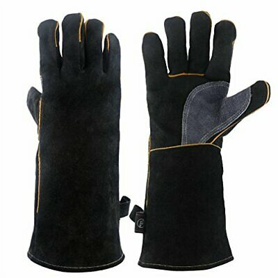 Made With Kevlar Police Anti Slash Fire Resistant Leather SIA Gloves Securi Y3E8