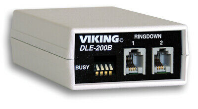 Viking Electronics VK-DLE-200B Two-Way Line Emulator NEW