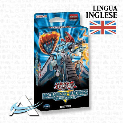 PREVENDITA Structure Deck Mechanized Madness in INGLESE • SR10 Yugioh ANDYCARDS