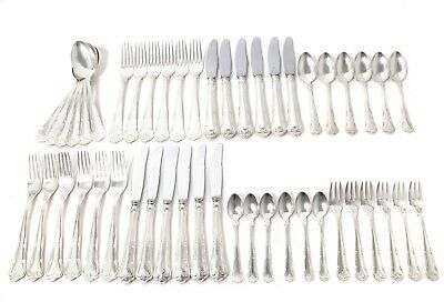"Silver cutlery set for 6 people, 48 items. ""Herregaard"", Denmark, Cohr, 1939"