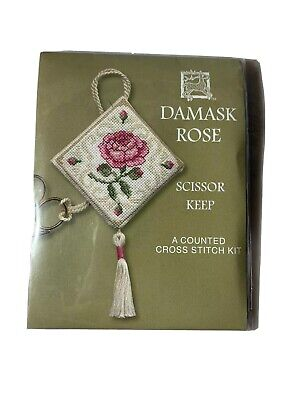 Medieval Garden Scissor Keep Counted Cross Stitch Kit by Textile Heritage