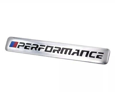 1 x BMW M Performance Car Decal Logo Badge Auto Accessories Sticker M Power
