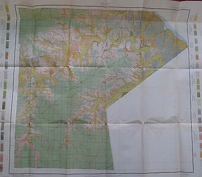 Folded Color Soil Survey Map Ralls County Missouri New London Center Perry 1913