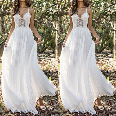 Soft Long Dress Women Strappy Dress Formal Bridesmaid  Prom Party Dress