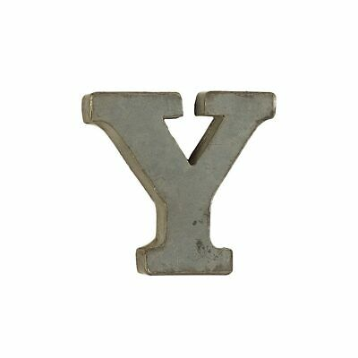 Small Decorative Tin Letters - Y