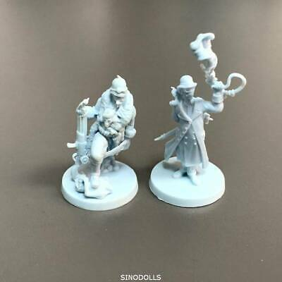 2 blue mini For Dungeons & Dragon D&D Nolzur's Marvelous Miniatures figure gift