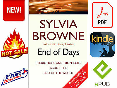 NEW End Of Days by Sylvia Browne DIGITAL BOOK
