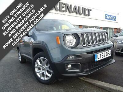 2017 Jeep Renegade 1.6 LONGITUDE 5d 108 BHP Estate Petrol Manual