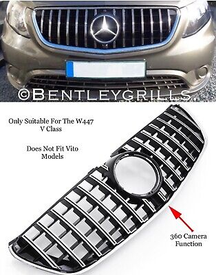 Mercedes V Class W447 Amg Panamericana Gt Grille Models 2014 On