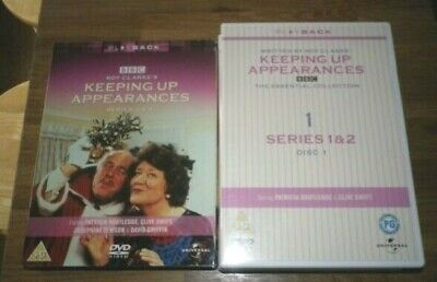 BBC Keeping Up Appearances - Series 1-4 (DVD BOXSET) Patricia Routledge