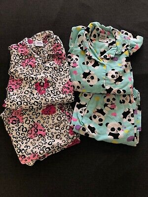 Girls Pyjama Set Size 12 X 2