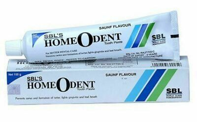 5x SBL Homeodent Tooth Paste for Caries, Gingivitis 100gm BesT Offer ,,,