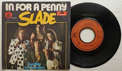 "SLADE 'In For A Penny' 1975 Yugoslavian 7"" / 45 vinyl single"