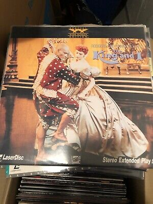 The King and I Laserdisc LD englisch