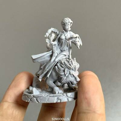 2'' lady girl For Dungeons & Dragon D&D Nolzur's Marvelous Miniatures figure Toy
