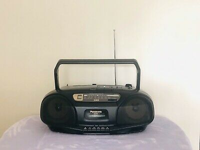 Panasonic RX-DS10 Portable Stereo CD, TUNER, Cassette Music System