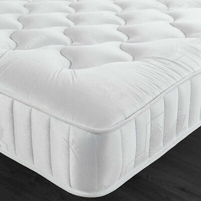 Luxury Cool Quilted Memory Foam Matress - 4ft6 Double 5ft King Mattress!!
