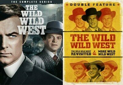 THE WILD WILD WEST COMPLETE SERIES SEASONS 1 2 3 4 + BOTH TV MOVIES New DVD