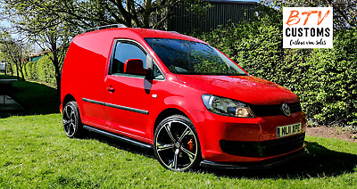 2011 VW CADDY RED ONLY 78000 MILES GREAT CONDITION BTV EDITION NO VAT!! No VAT !