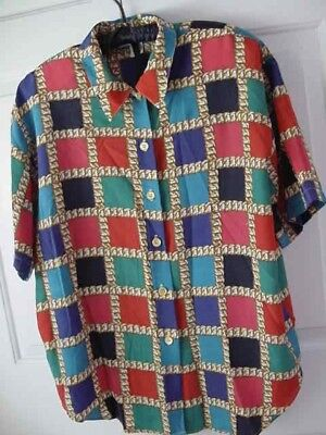 Ladies/Womens//Womans IMPRESSIONS of CALIFORNIA Button Front Blouse/Shirt  Sz 16